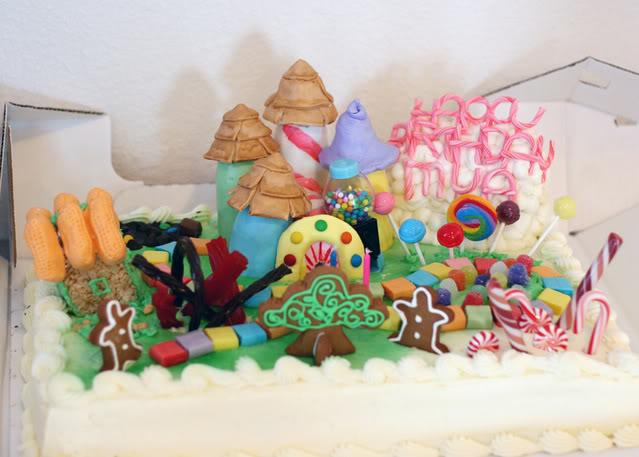 Mya's Candyland Birthday – The Result