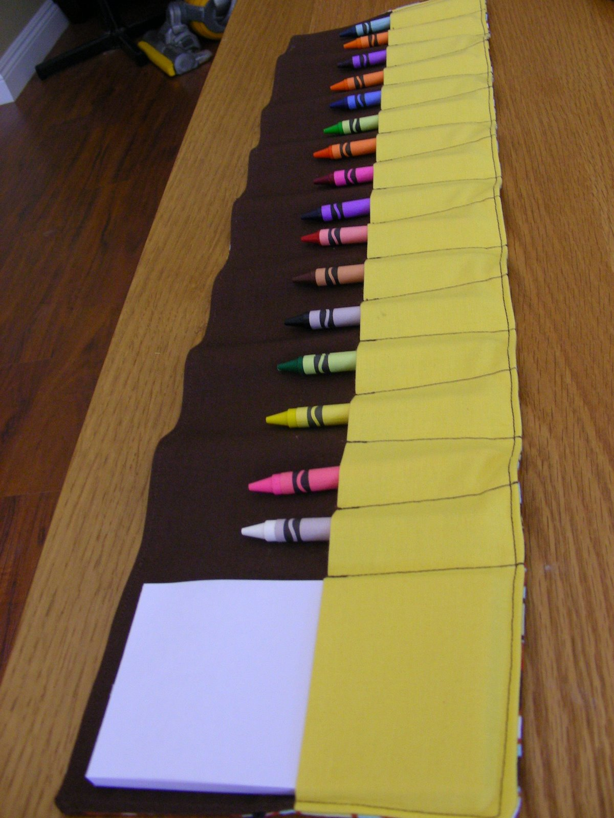 Crayon and Scratchpad Roll