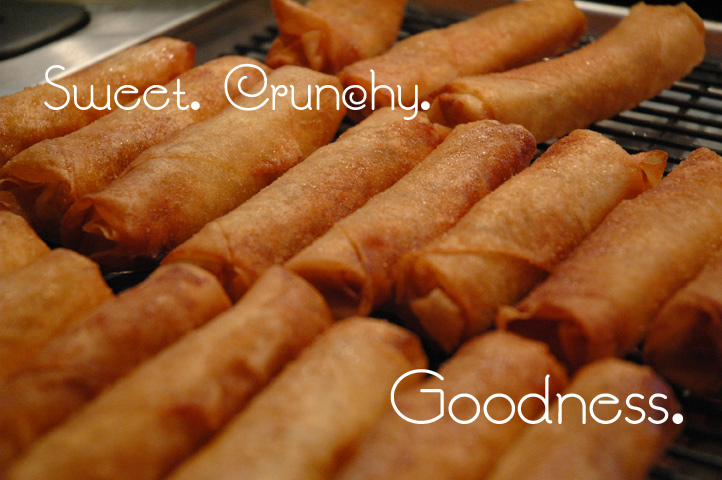 Turon – Sweet. Crunchy. Goodness.