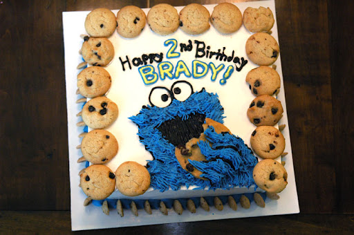 Me Want COOKIE (and cake)!!