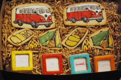 Contest Winner Cookies