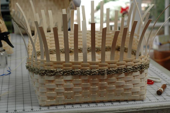 Algonquin Shelf Basket