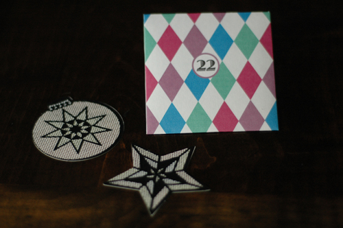 Advent Calendar – Envelope and Hexagon Box