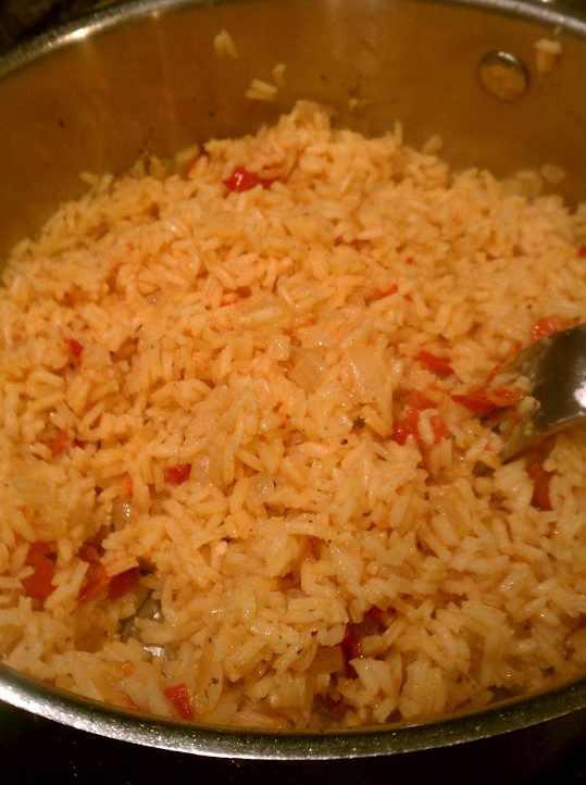 Mexican Red Rice (Arroz Rojo) Demystified - Making it Sweet