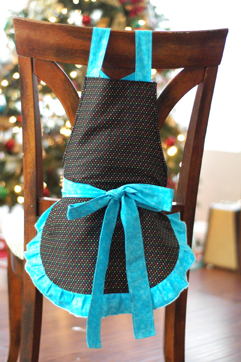 Pretty Girl's Apron
