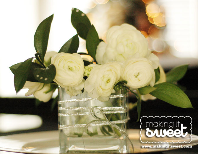 Christmas Floral Arrangements with The Bouqs Co.