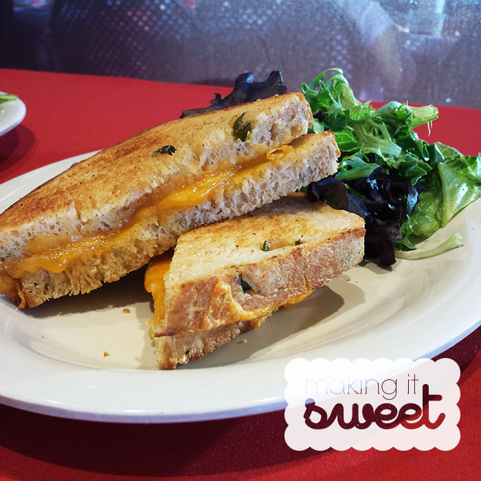 "Say, ""Boudin Grilled Cheese, Please!"""