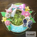 Easter Sugar Cookie Wreath