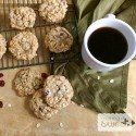 Cranberry, Pepita, and Chocolate Chip Oatmeal Cookies
