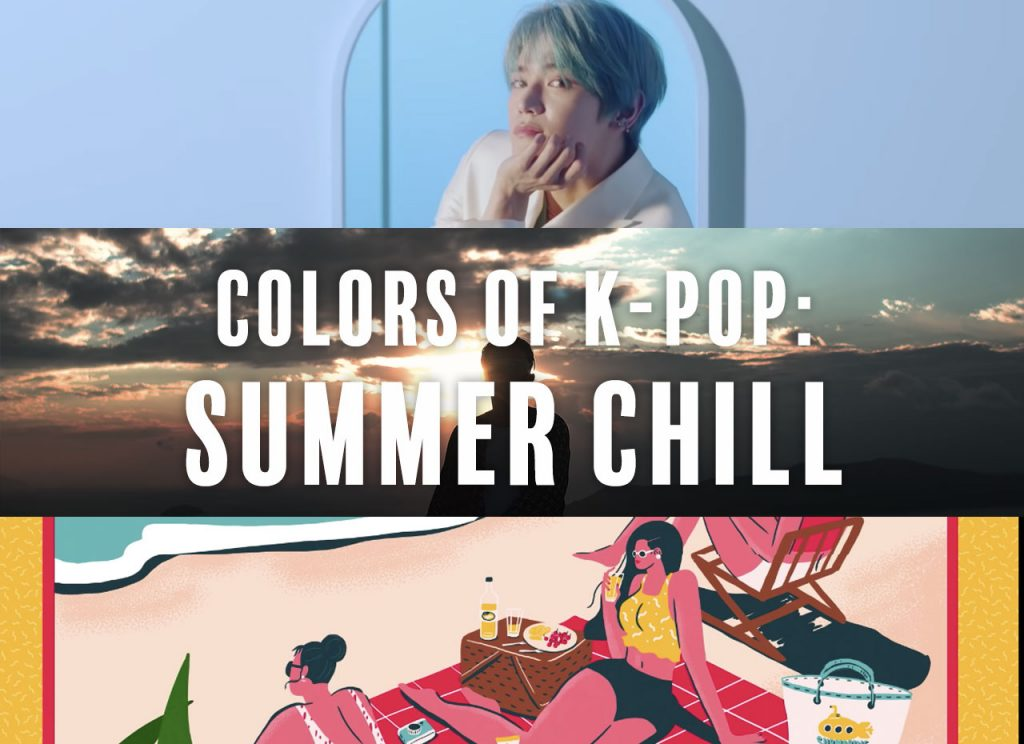 Colors of K-Pop: Summer Chill