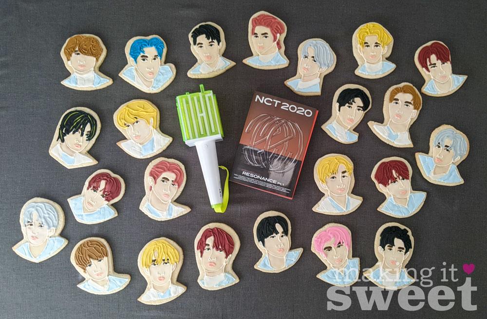 NCT 2020 Sugar Cookies