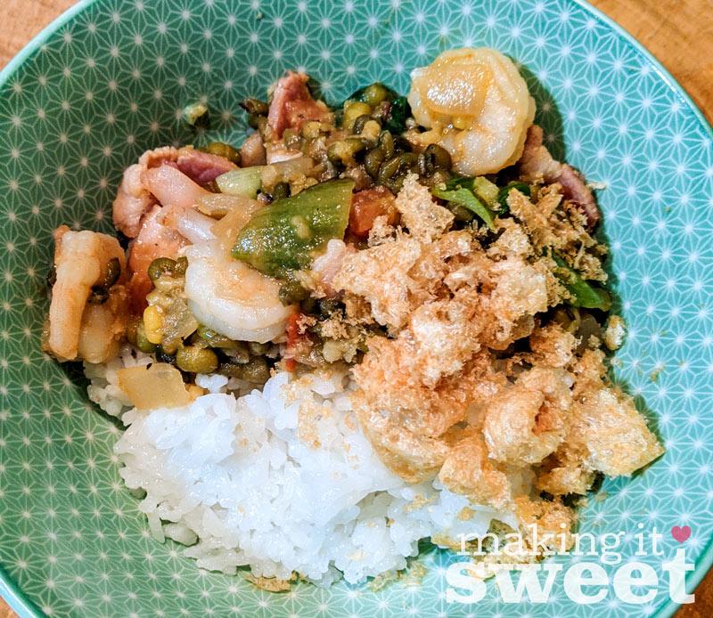 Munggo Guisado – Filipino Mung Bean Stew